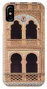 Moorish Windows Madrid IPhone Case