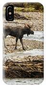 Moose Crossing River No. 1 - Grand Tetons IPhone Case