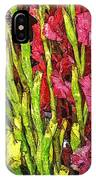 More Flowers 3 IPhone Case