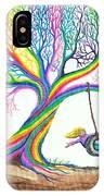 More Rainbow Tree Dreams IPhone Case