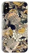 More Than Just Pot Metal 2 IPhone Case