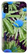 More Than Miles Purple Green Blue IPhone Case