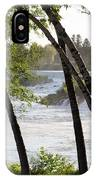 Morning At Idaho Falls IPhone Case