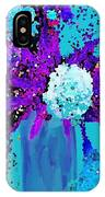 Morning Callas And Orchids  IPhone Case