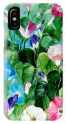 Morning Glory Bouquet IPhone Case