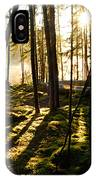 Morning In Canoe Country IPhone Case