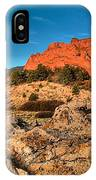 Morning Light At Garden Of The Gods IPhone Case