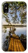 Morning On The Lake IPhone Case