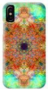 Moroccan Sun Mandala IPhone Case
