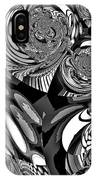 Moroccan Lights - Black And White IPhone Case