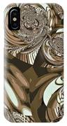 Moroccan Lights - Brown IPhone Case