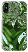 Moroccan Lights - Green IPhone Case