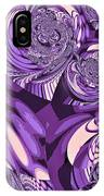 Moroccan Lights - Purple IPhone Case