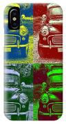 Morris Car In Pop Art IPhone Case