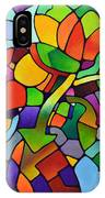 Mosaic Bouquet IPhone Case