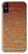 Mosaic Floor In Bergama Museum-turkey IPhone Case