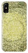 Mosaic Galaxy In Gold IPhone Case