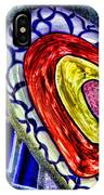 Mosaic Heart By Diana Sainz IPhone Case