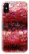 Mosaic Lips IPhone Case
