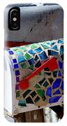 Mosaic Mailbox On The Turquoise Trail In New Mexico IPhone Case