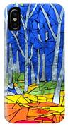 Mosaic Stained Glass - My Woods IPhone Case