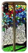 Mosaic Stained Glass - Roots IPhone Case