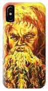 Moses At The Burning Bush IPhone Case