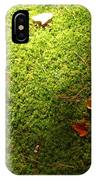 Moss And Leaves IPhone Case
