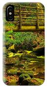 Moss Bridge IPhone Case