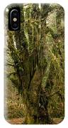 Moss-covered Bigleaf Maple  IPhone Case
