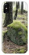 Moss-covered Boulder IPhone Case