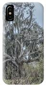Moss Covered Tree IPhone Case