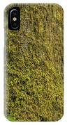 Moss Covered Tree Olympic National Park IPhone Case