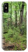 Moss Covered Trees In Forest, Lord IPhone Case