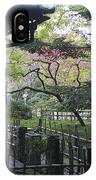 Moss Garden Temple - Kyoto Japan IPhone Case