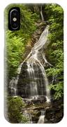 Moss Glen Falls Stowe Vermont IPhone Case