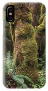 Mossy Big Leaf Maples In Hoh Rainforest IPhone Case