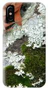Mossy Leaves IPhone Case