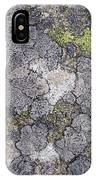 Mossy Mouldy Rock Texture IPhone Case