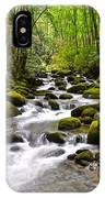 Mossy Mountain Stream IPhone Case
