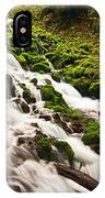 Mossy River Flowing. IPhone Case