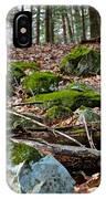Mossy Rocks IPhone Case