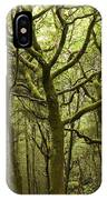 Mossy Welsh Forest  IPhone Case