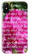 Most Powerful Prayer With Peony Bush IPhone Case