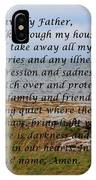 Most Powerful Prayer With Seashore IPhone Case