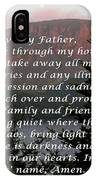Most Powerful Prayer With Sunset And Moon IPhone Case