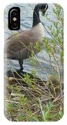 Mother And Child Canadian Geese IPhone Case