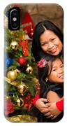 Mother And Daughter 02 IPhone Case