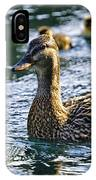 Mother Duck IPhone Case
