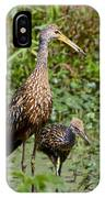 Mother Limpkin And Colt IPhone Case
